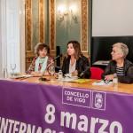 Graciela Vaquero, Uxía Blanco e Ángeles Arias presentaron esta actividade