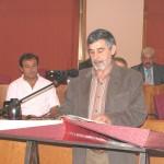 Carlos Cotobade Tombo, BNG (21/10/2005), en sustitución de Santiago Domínguez.