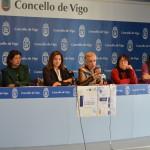 Rolda de prensa Día Internacional das Mulleres. Presenta Ángeles Arias.