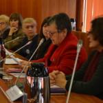 Intervención de Dona Luz Iglesias Herrero, de Viúvas Demócratas de Vigo