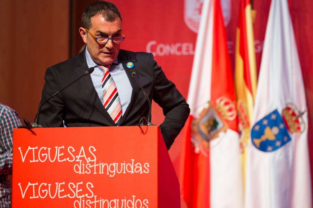 Reconquista 2016, entrega dos galardóns ós Vigueses Distinguidos e Medalla da Cidade - slide 4