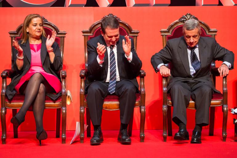 Reconquista 2016, entrega dos galardóns ós Vigueses Distinguidos e Medalla da Cidade - slide 1