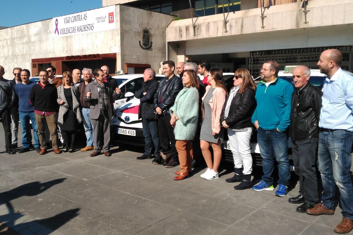 Presentación nueva flota de taxis de Vigo - slide 2