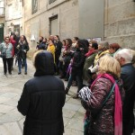 A terceira parada realizouse na Imprenta de Juan Compañel