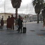 A cuarta parada, o monumento á emigración da Estación Marítima