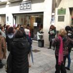 A novena parada no número 11 da Rúa do Príncipe, onde Olimpia Valencia exerceu de xinecóloga