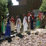 Representación da vida cotiá dos romanos