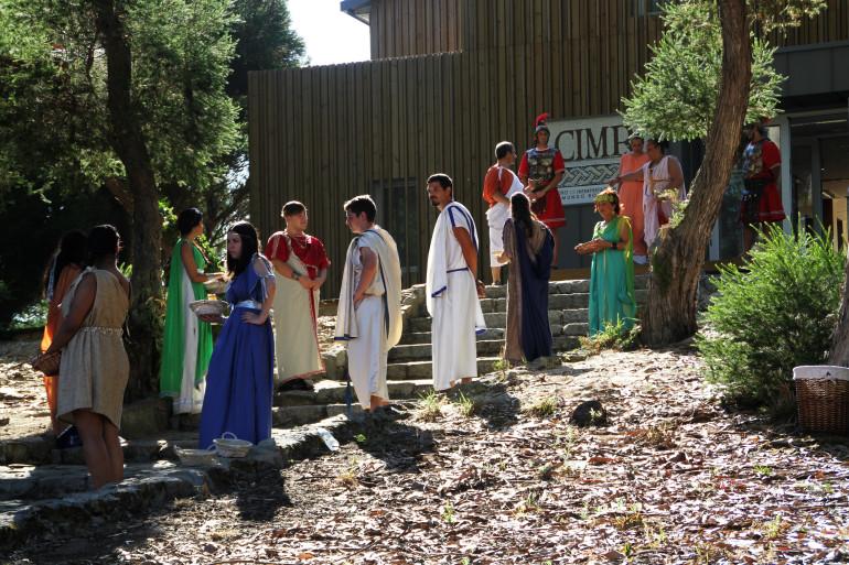 O Centro de Interpretación de Mirambel recrea a vida cotiá dos romanos - slide 1