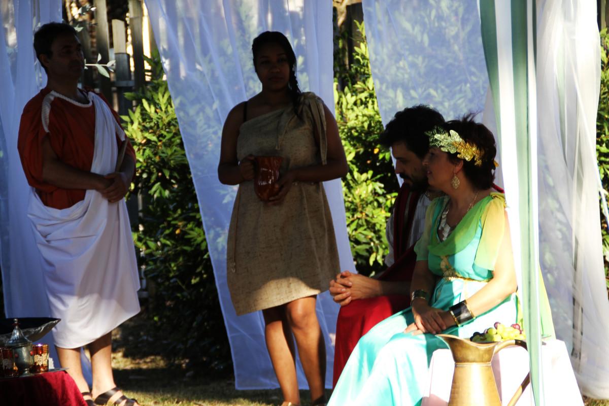 O Centro de Interpretación de Mirambel recrea a vida cotiá dos romanos - slide 10