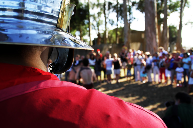 O Centro de Interpretación de Mirambel recrea a vida cotiá dos romanos - slide 8