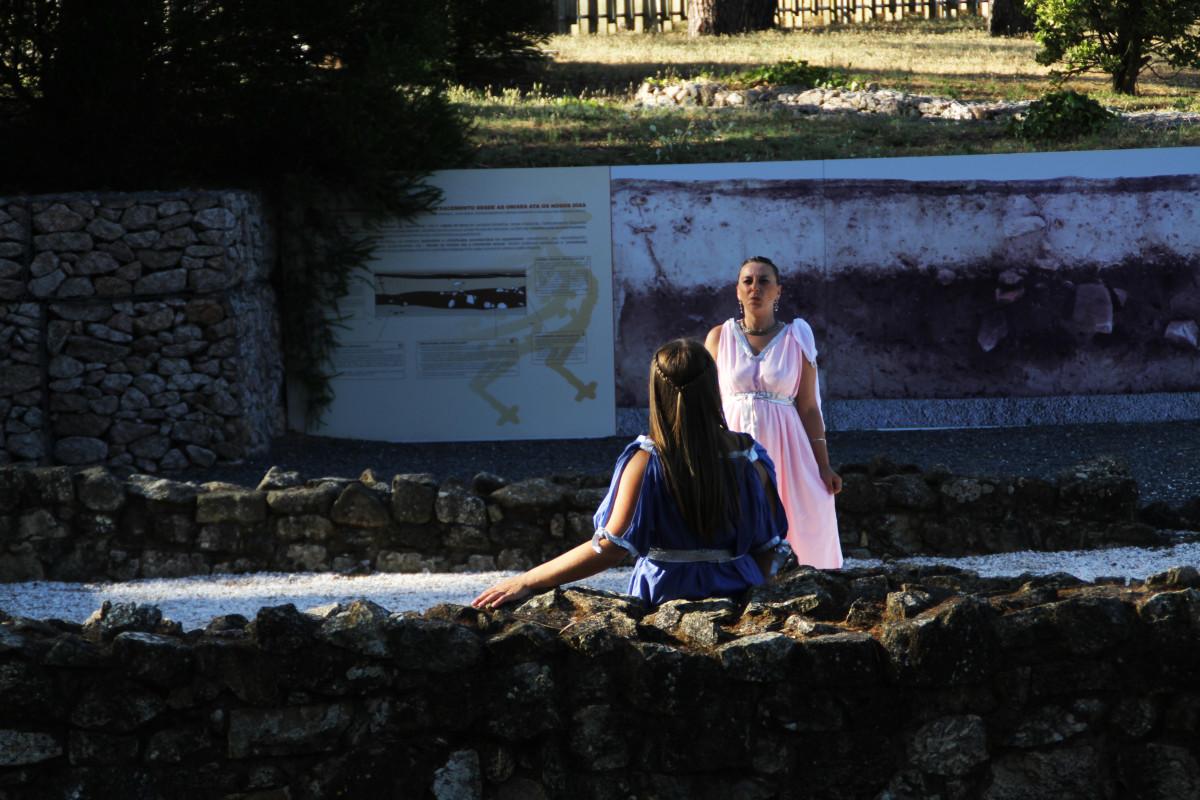 O Centro de Interpretación de Mirambel recrea a vida cotiá dos romanos - slide 6