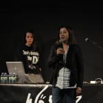 Presentación do concerto pola concelleira Uxía Blanco