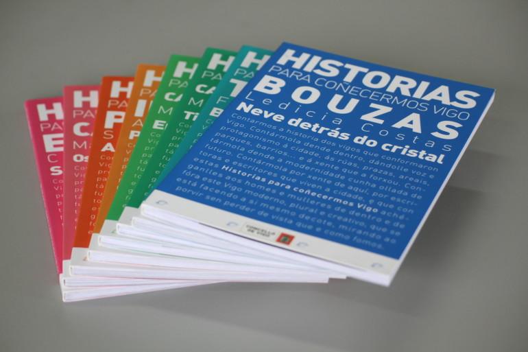 Colección Historias para coñecermos Vigo