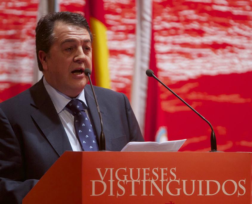 Reconquista 2014, Acto entrega de galardóns de Vigueses Distinguidos e Medalla da Cidade - slide 4