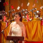 Nuria Lorenzo, mezzosoprano da agrupación Ladibain