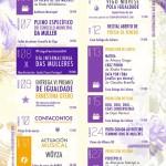 Programación de actividades do Día Internacional das Mulleres 2018