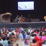 El Rey de la Sábana El León, 6 de agosto en Castrelos