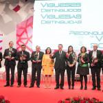 Galardonados co alcalde Abel Caballero