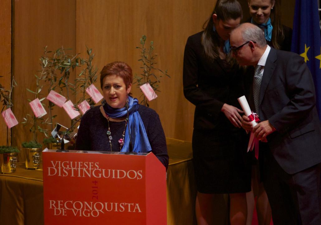 Reconquista 2014, Acto entrega de galardóns de Vigueses Distinguidos e Medalla da Cidade - slide 14