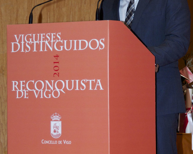 Reconquista 2014, Acto entrega de galardóns de Vigueses Distinguidos e Medalla da Cidade - slide 10