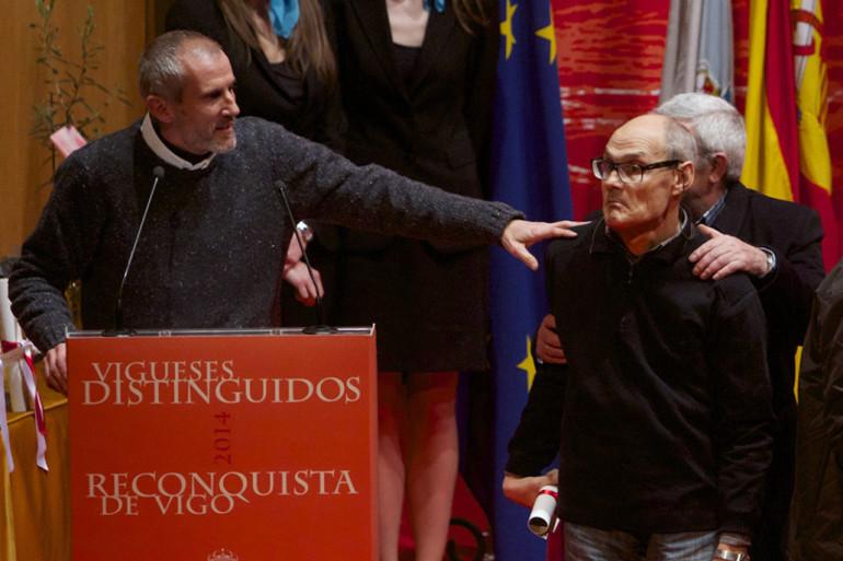 Reconquista 2014, Acto entrega de galardóns de Vigueses Distinguidos e Medalla da Cidade - slide 6