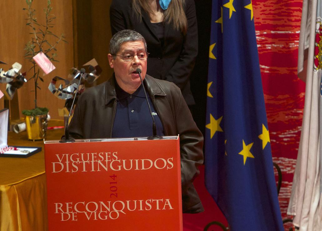 Reconquista 2014, Acto entrega de galardóns de Vigueses Distinguidos e Medalla da Cidade - slide 3