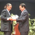 Astaleiro Hijos de J. Barreras D.Francisco González Viñas Medalla da Cidade ano 2008