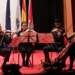 Actuación cuarteto de corda orquesta clásica de Vigo