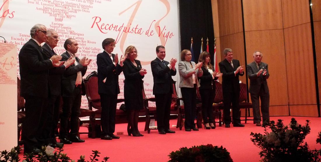 Reconquista 2013, nomeamento Vigueses Distinguidos e Medalla da Cidade - slide 5
