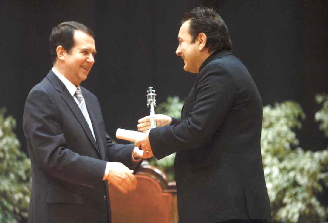 Reconquista 2009, nomeamento Vigueses Distinguidos e Medalla da Cidade - slide 1