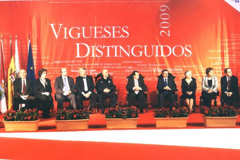 Reconquista 2009, nomeamento Vigueses Distinguidos e Medalla da Cidade - slide 3