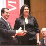 Da. Mª. Victoria Alonso Vilariño Viguesa Distinguida, ano 2008