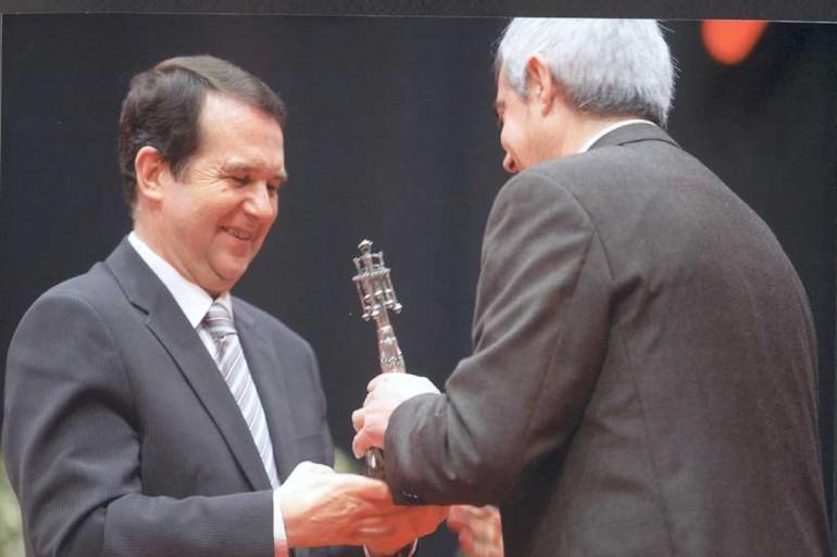Reconquista 2009, nomeamento Vigueses Distinguidos e Medalla da Cidade - slide 12