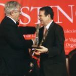 Club de Campo de Vigo Pte.D.Manuel Sanjurjo Blein Vigués Distinguido ano 2009