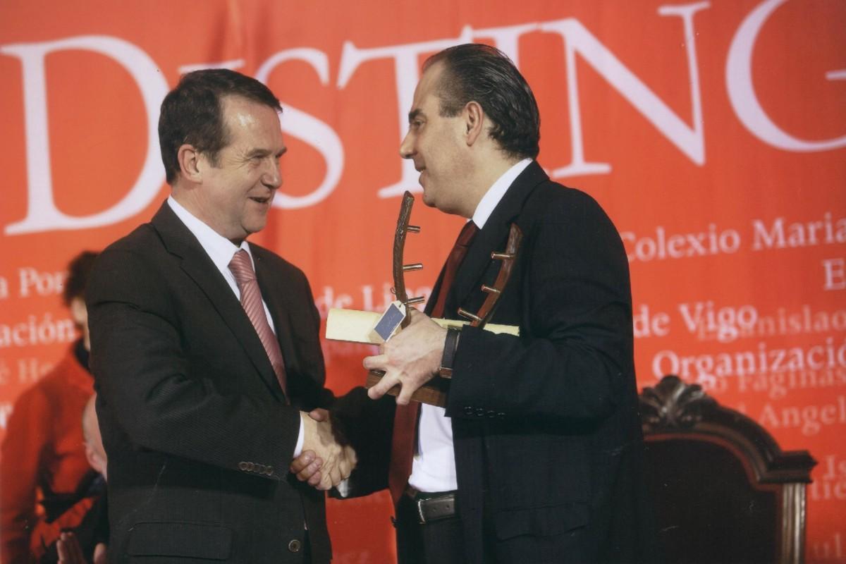 Reconquista 2009, nomeamento Vigueses Distinguidos e Medalla da Cidade - slide 7
