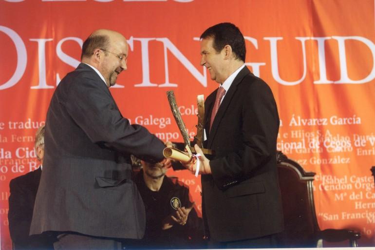 Reconquista 2009, nomeamento Vigueses Distinguidos e Medalla da Cidade - slide 5