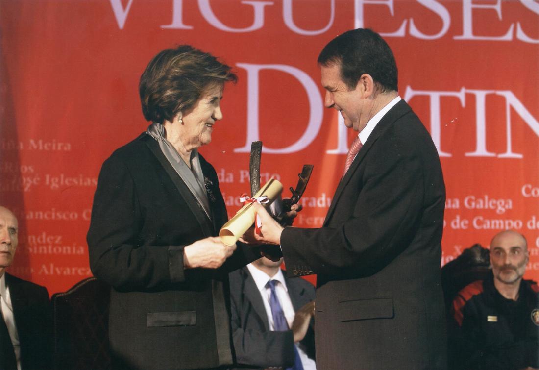Reconquista 2009, nomeamento Vigueses Distinguidos e Medalla da Cidade - slide 4