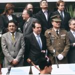 Acto Reconquista praza da Independencia ano 2009
