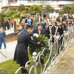 Acto Reconquista praza da Independencia Ano 2008 (Ofrenda Floral)