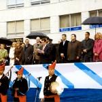 Acto Reconquista praza da Independencia
