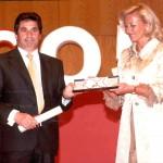 Medalla de ouro: Hospital Xeral (Conplexo Hospitalario Universitario de Vigo) Recibe a medalla: Manuel Sanchéz Delgado(Xerente)