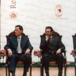 Javier Moll de Miguel, de Faro de Vigo, medalla de ouro da Cidade e Lois Castrillo, alcalde