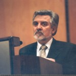 Xosé María Palmeiro, autor e lector do Bando.