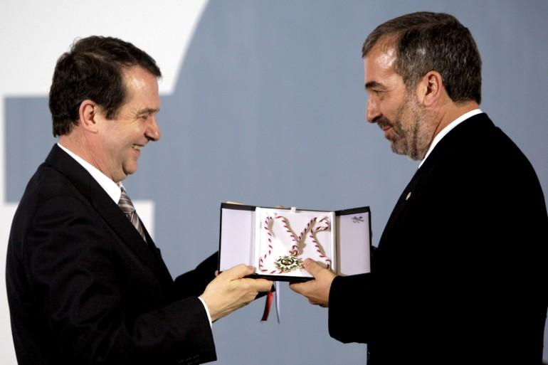 Reconquista 2010, nomeamento Vigueses Distinguidos e Medalla da Cidade - slide 8