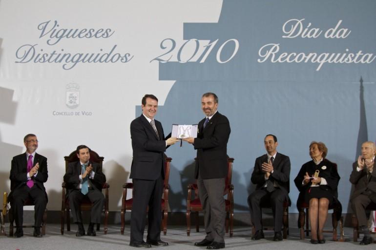 Reconquista 2010, nomeamento Vigueses Distinguidos e Medalla da Cidade - slide 9