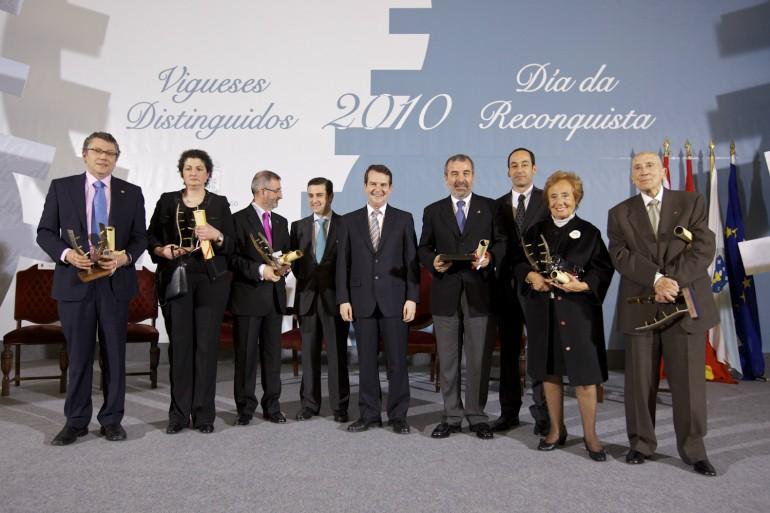 Reconquista 2010, nomeamento Vigueses Distinguidos e Medalla da Cidade - slide 20