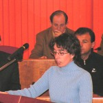 Silvia Bermúdez, BNG (21-2-05), en sustitución de Olaia Fernández.