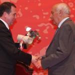 Abel Caballero y José Antonio Vieira (Presidente Banco de Alimentos)