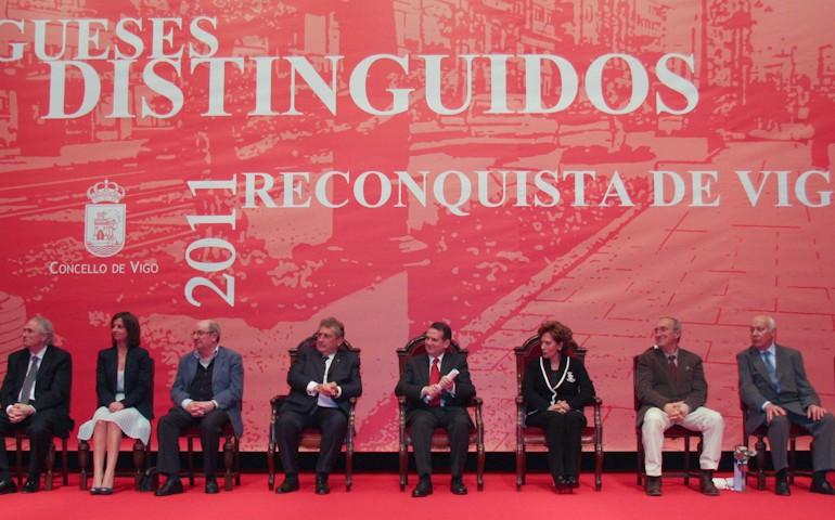 Reconquista 2011, nomeamento Vigueses Distinguidos e Medalla da Cidade - slide 3