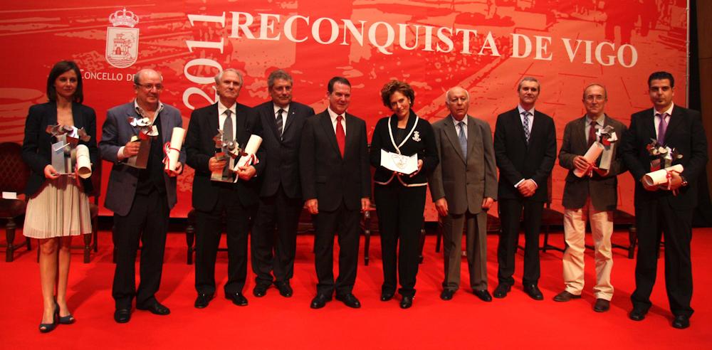 Reconquista 2011, nomeamento Vigueses Distinguidos e Medalla da Cidade - slide 12